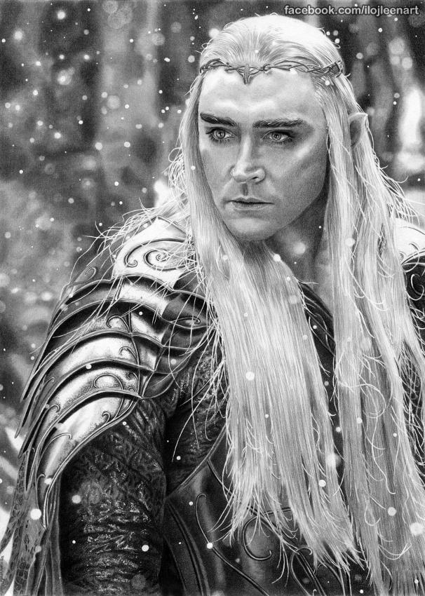 Lee Pace by Ilojleen